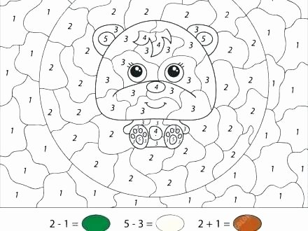 3 Digit Addition Coloring Worksheets Addition Color by Number Printable – Latinissimofo