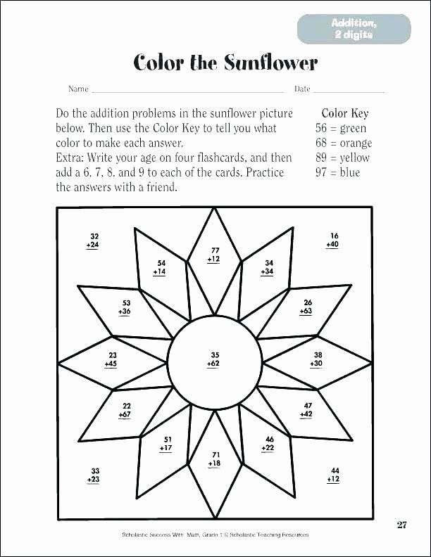 3 Digit Addition Coloring Worksheets Addition Coloring Sheet Color by Number Addition Addition