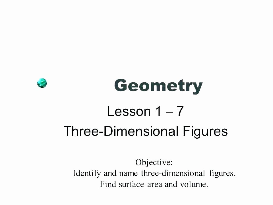 3 Dimensional Figures Worksheets Two Dimensional Shapes Worksheets