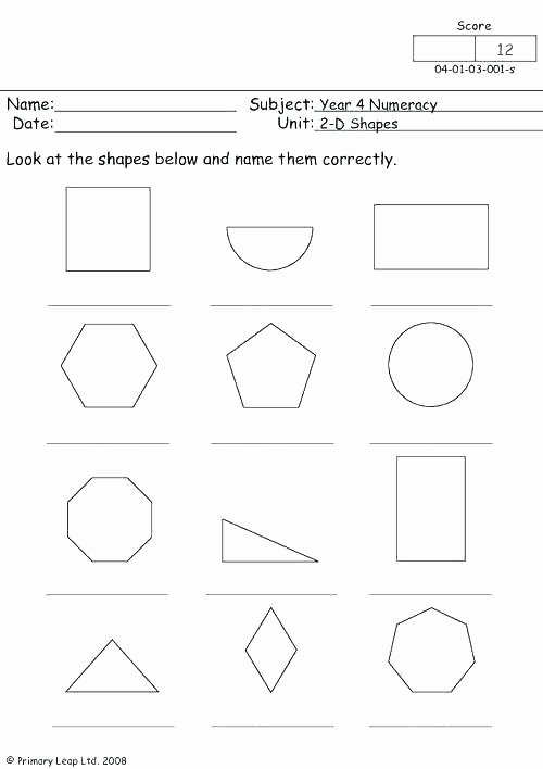 3 Dimensional Shapes Worksheets Two Dimensional Shapes Worksheets 3rd Grade 2 and 3