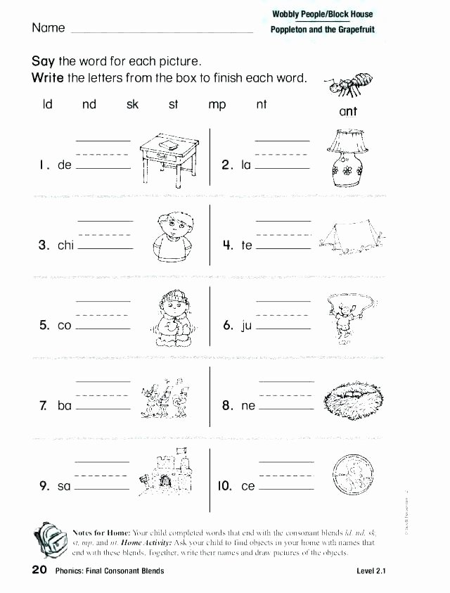 3 Letter Blends Worksheets 3 Letter Words Worksheets Pdf Read 2 Letter Word Sentences
