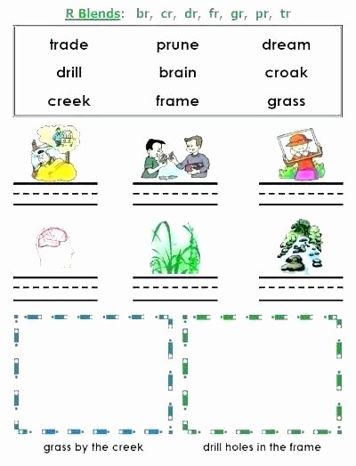 3 Letter Blends Worksheets Three Letter Consonant Blends Worksheets