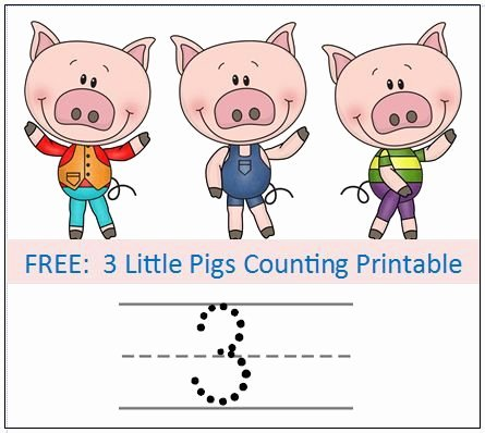 3 Little Pigs Worksheets Three Little Pigs Story Sequencing Printable Cards