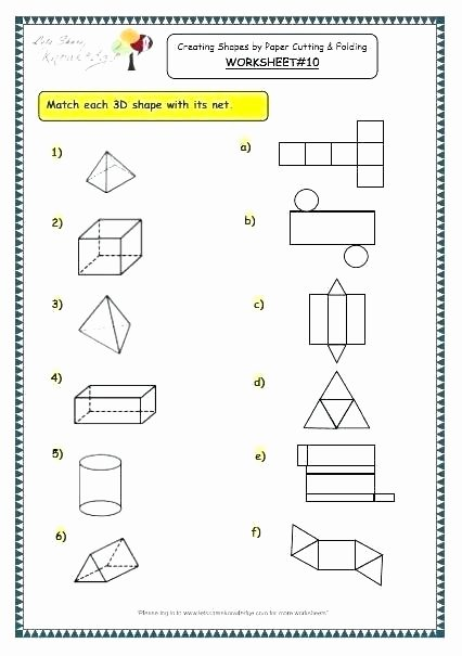 3d Shapes Worksheets 2nd Grade 3 Dimensional Worksheets