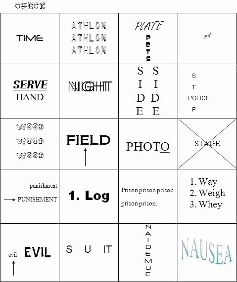 3rd Grade Brain Teasers Printable Printable Brain Teaser Worksheets for Adults Rebus Puzzles