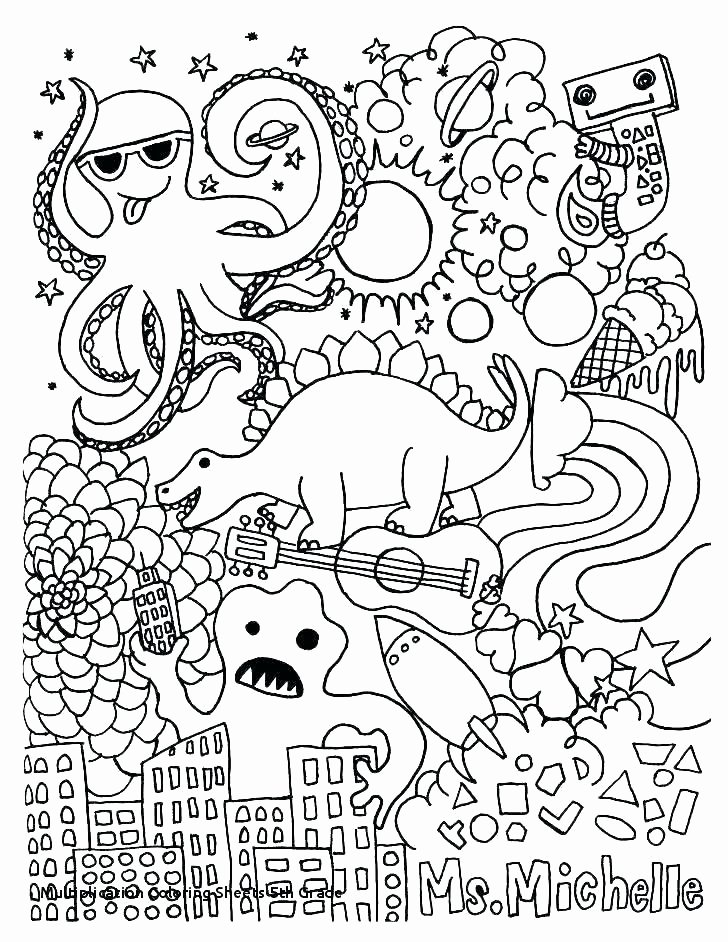 3rd Grade Coloring Worksheets Math Worksheets are Fun – Escueladeasociaciones