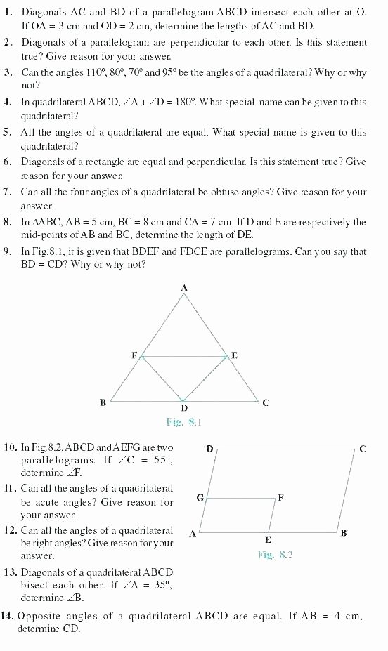 3rd Grade Geometry Worksheets Pdf Fresh Grade Geometry Worksheets for Students Measuring Angles