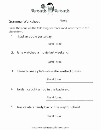 3rd Grade Grammar Worksheets Eighth Grade Math Worksheets Grade Math Worksheets Printable