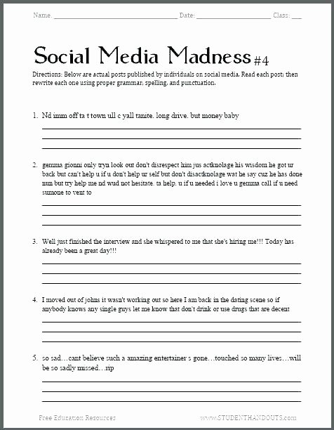 3rd Grade Grammar Worksheets Free Free Printable 8th Grade Grammar Worksheets