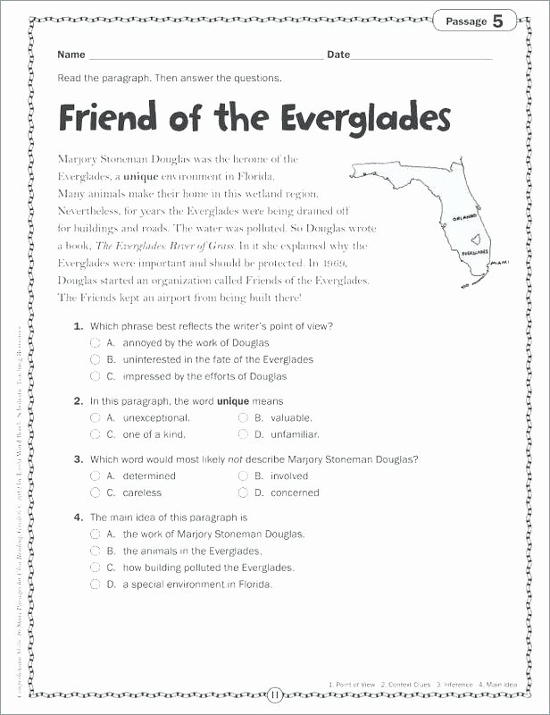 3rd Grade Main Idea Worksheets Main Idea Worksheets 3rd Grade
