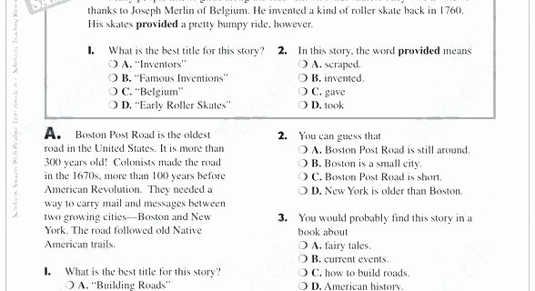 3rd Grade Main Idea Worksheets Main Idea Worksheets Grade 6 – Trungcollection
