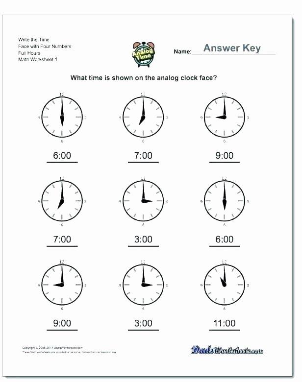 3rd Grade Measurement Worksheet Fun Telling Time Worksheets