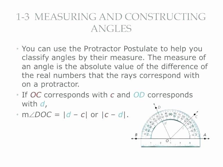 3rd Grade Measurement Worksheet Measuring with A Protractor Worksheet Free Worksheets Reading