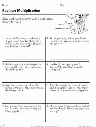 3rd Grade Money Worksheets Free 3rd Grade Math Word Problems – Kcctalmavale