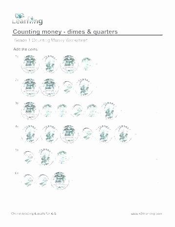 3rd Grade Money Worksheets Free Printable Day School Counting Money Worksheet