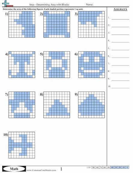 3rd Grade Perimeter Worksheets area & Perimeter Math