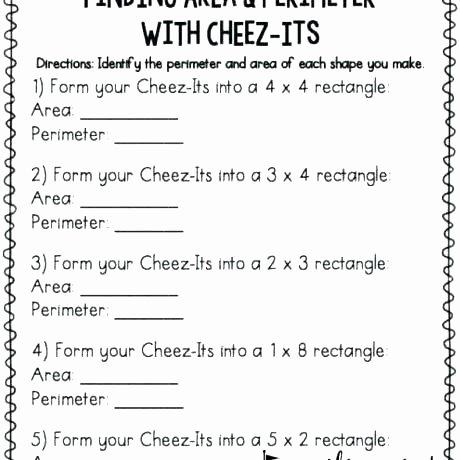 3rd Grade Perimeter Worksheets Third Grade area and Perimeter Worksheets
