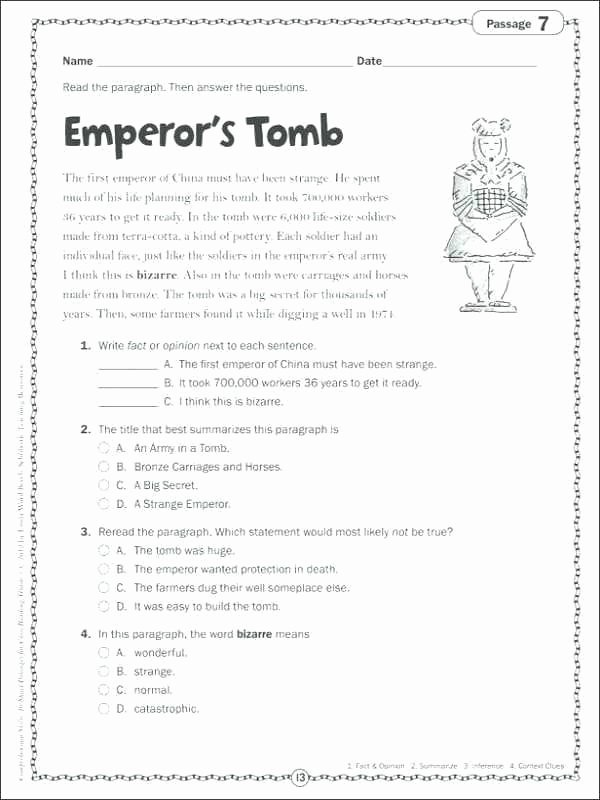 3rd Grade Preposition Worksheets First Grade Reading Ets Teaching for Cloze Passages 3rd