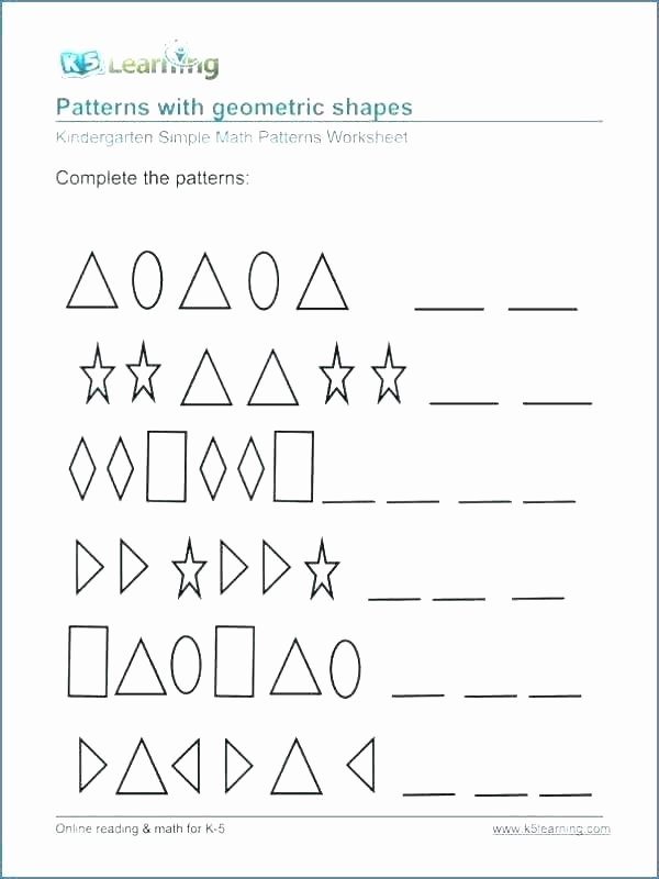 3rd Grade Sequencing Worksheets Math Number Patterns Worksheets