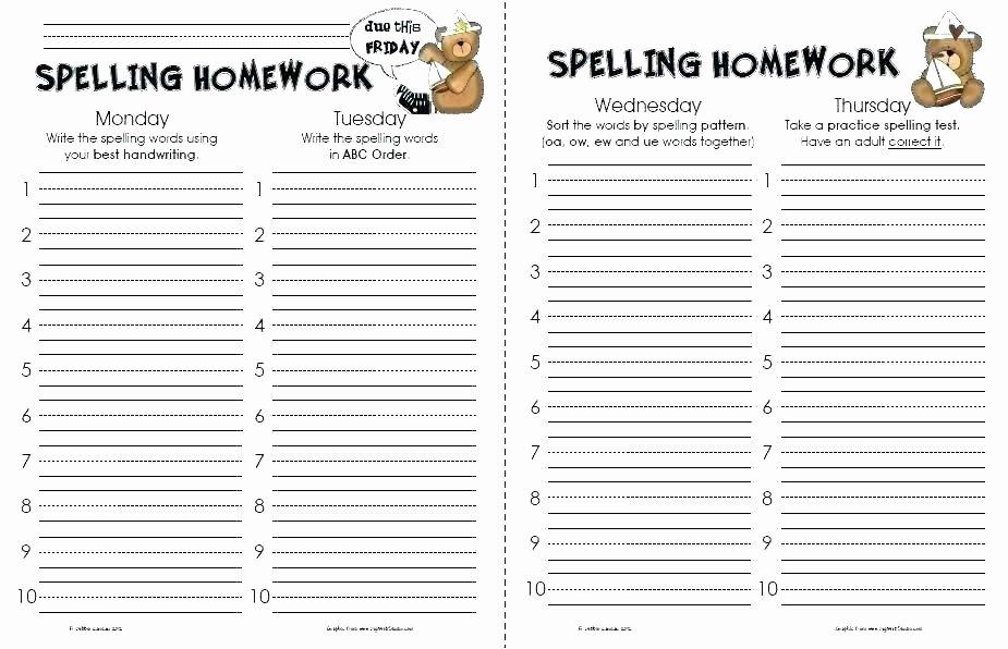 3rd Grade Spelling Worksheets Pdf Beautiful Grade Spelling Worksheet Fifth Worksheets Pdf