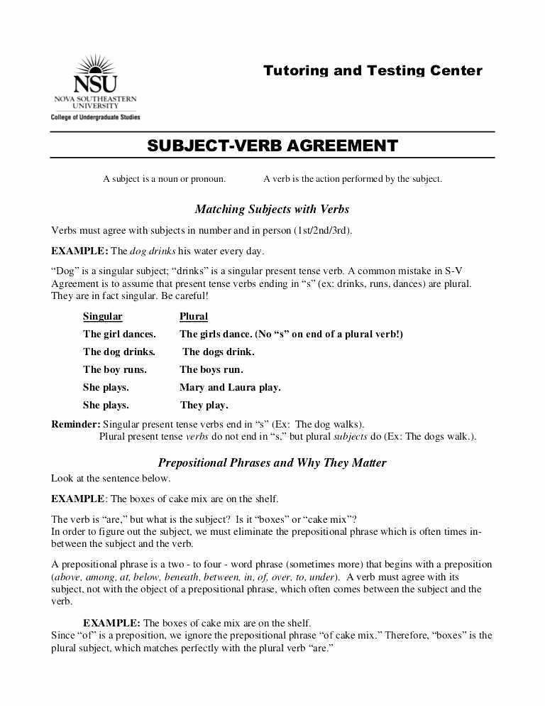 3rd Grade Verb Tense Worksheets Verbs for Kindergarten New Verb Tenses Worksheet Pdf Best