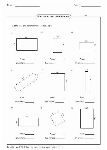 3rd Grade Volume Worksheets area Perimeter Volume Worksheets – 7th Grade Math Worksheets