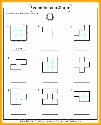 3rd Grade Volume Worksheets Perimeter Worksheets for 3rd Grade Free