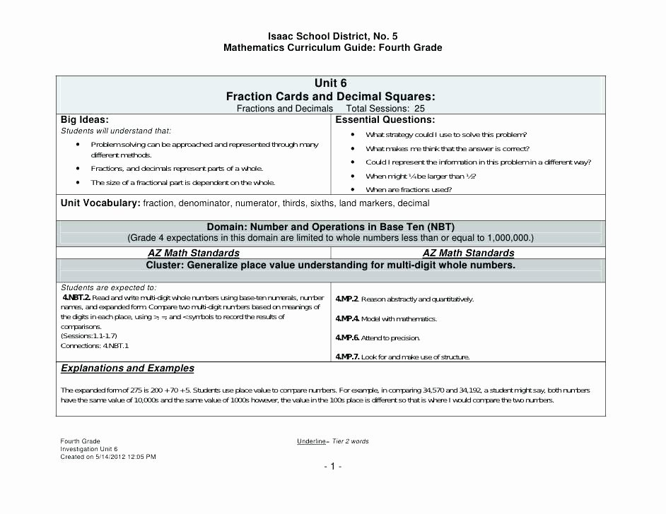 4 Nbt 6 Worksheets 4 Nbt 1 Worksheets Pdf