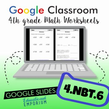 4 Nbt 6 Worksheets 4 Nbt 6 Worksheets & Teaching Resources