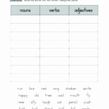 4th Grade Adverb Worksheets Noun and Verb Worksheets Pdf Adjective Adverb Worksheet