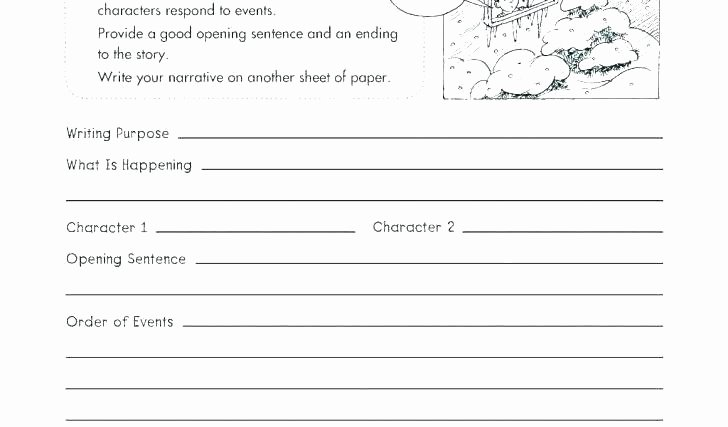 4th Grade Essay Writing Worksheets Narrative Writing Worksheets