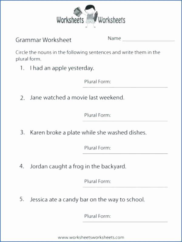 4th Grade Grammar Worksheets Pdf Best Of 4th Grade Cbse English Grammar Worksheets 4th Grade English