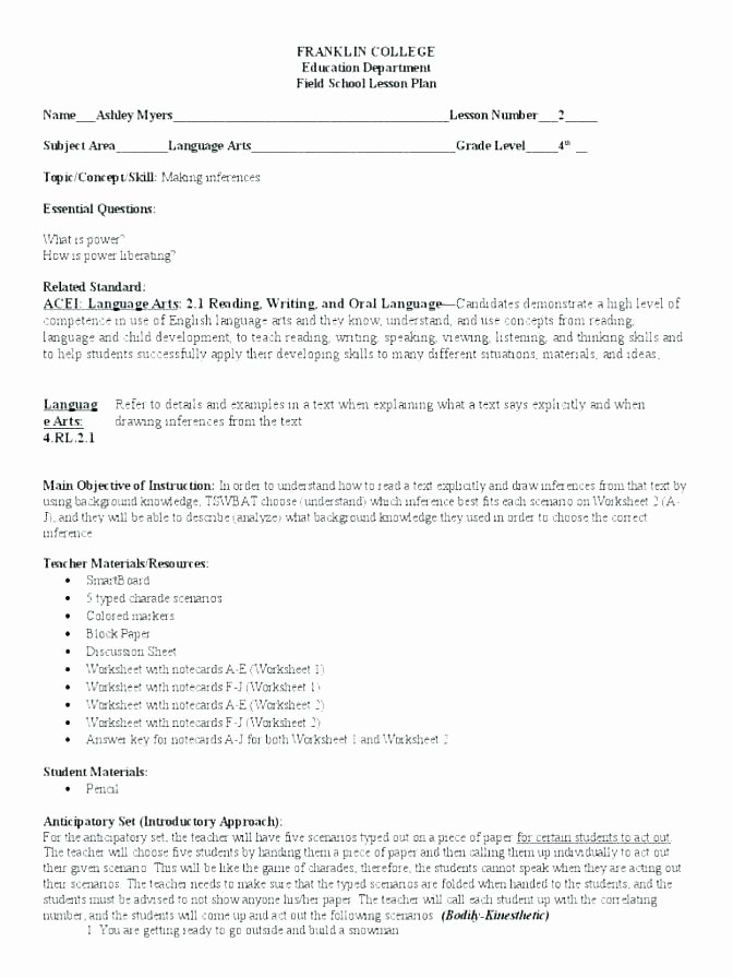 drawing conclusions worksheets grade high school inference worksheet and making infe