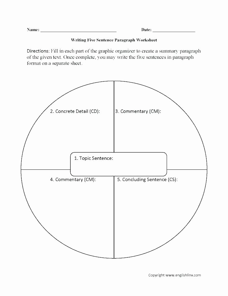 4th Grade Paragraph Writing Worksheets Paragraph Writing Worksheets Grade 3