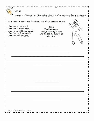 4th Grade Reading Response Worksheets Free Reading Worksheets for 2nd Grade