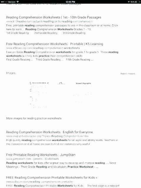4th Grade Reading Response Worksheets Grade Reading Prehension 2nd Grade Reading Response