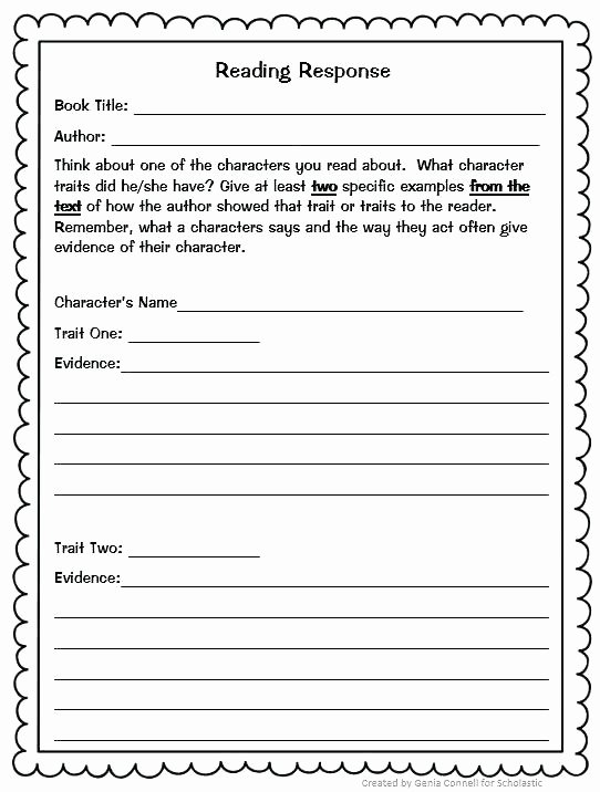 4th Grade Reading Response Worksheets Grade Reading Prehension Worksheets Multiple Choice