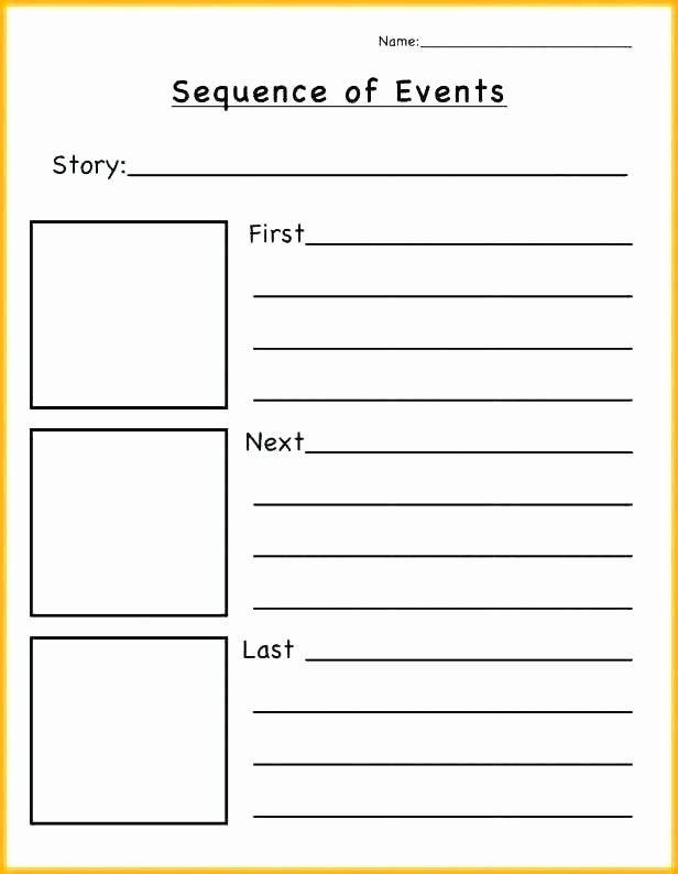 4th Grade Sequencing Worksheets 3 Picture Story Sequence Sequencing Worksheets Elegant