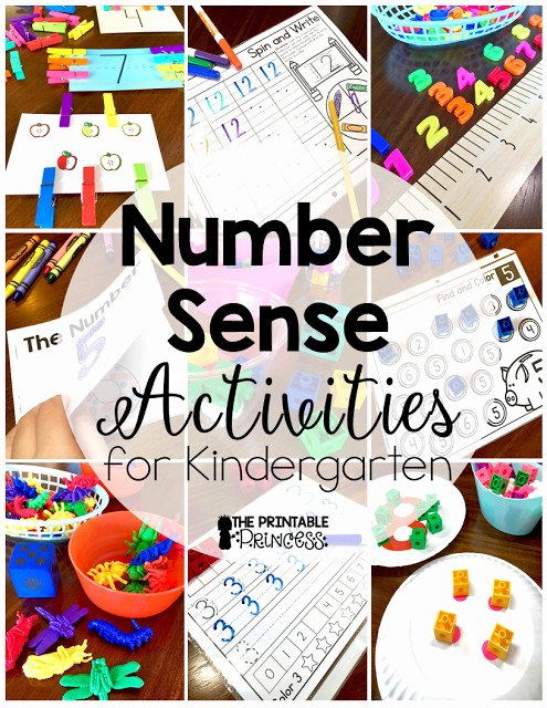 5 Sense Worksheet 5 Senses Kindergarten Inspirational Number Sense for