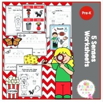 5 Senses Worksheets Pdf 5 Senses Worksheets Five for Kindergarten Pdf Worksheet