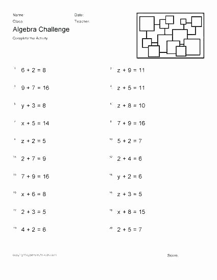 5th Grade Algebraic Expressions Worksheets 7th Grade Algebra – Uasporting