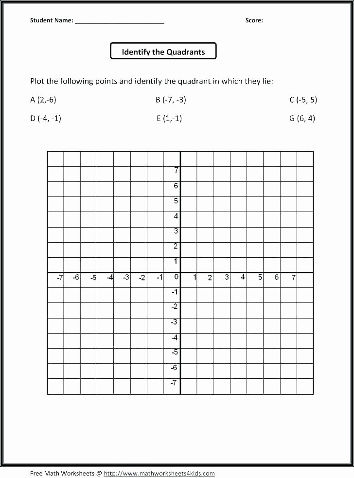 5th Grade Coordinate Grid Worksheets Coordinate Grid Quadrants Quadrant X Ly Blank Imposing