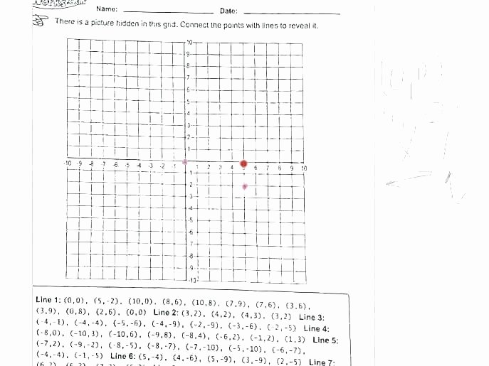 5th Grade Coordinate Grid Worksheets Free Valentine Coordinate Grid Picture Graphing Coordinate