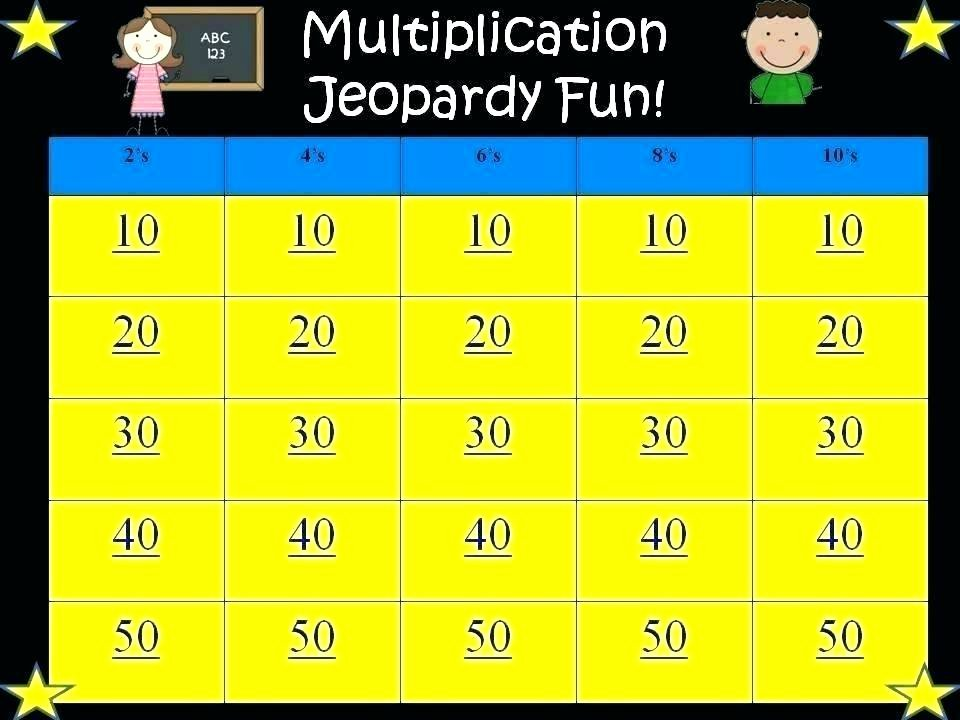 5th Grade Jeopardy Math 7th Grade Math Worksheets Online