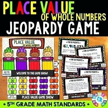 5th Grade Jeopardy Math Math Games for Grade 5 Jeopardy – Redsoxapparelsshop