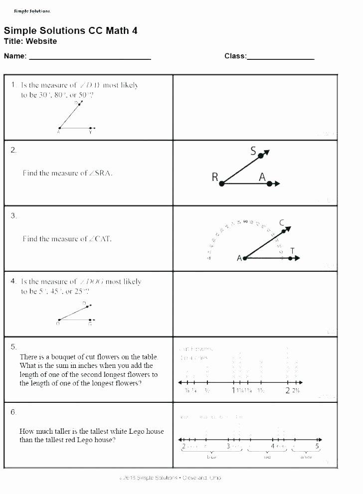 5th Grade Measurement Worksheet 5th Grade Measurement Worksheets
