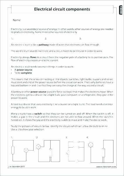 5th Grade Science Worksheets Pdf Science Worksheets for Grade 5