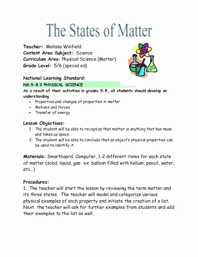 5th Grade Science Worksheets Pdf Third Grade Science Worksheets Matter States Matter