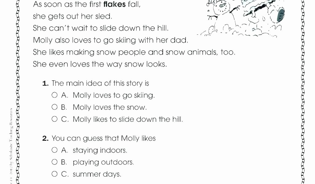 5th Grade theme Worksheets Main Idea Of A Story Worksheets