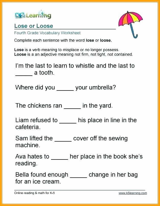 5th Grade Vocabulary Worksheets Pdf Spelling Vocabulary Worksheets